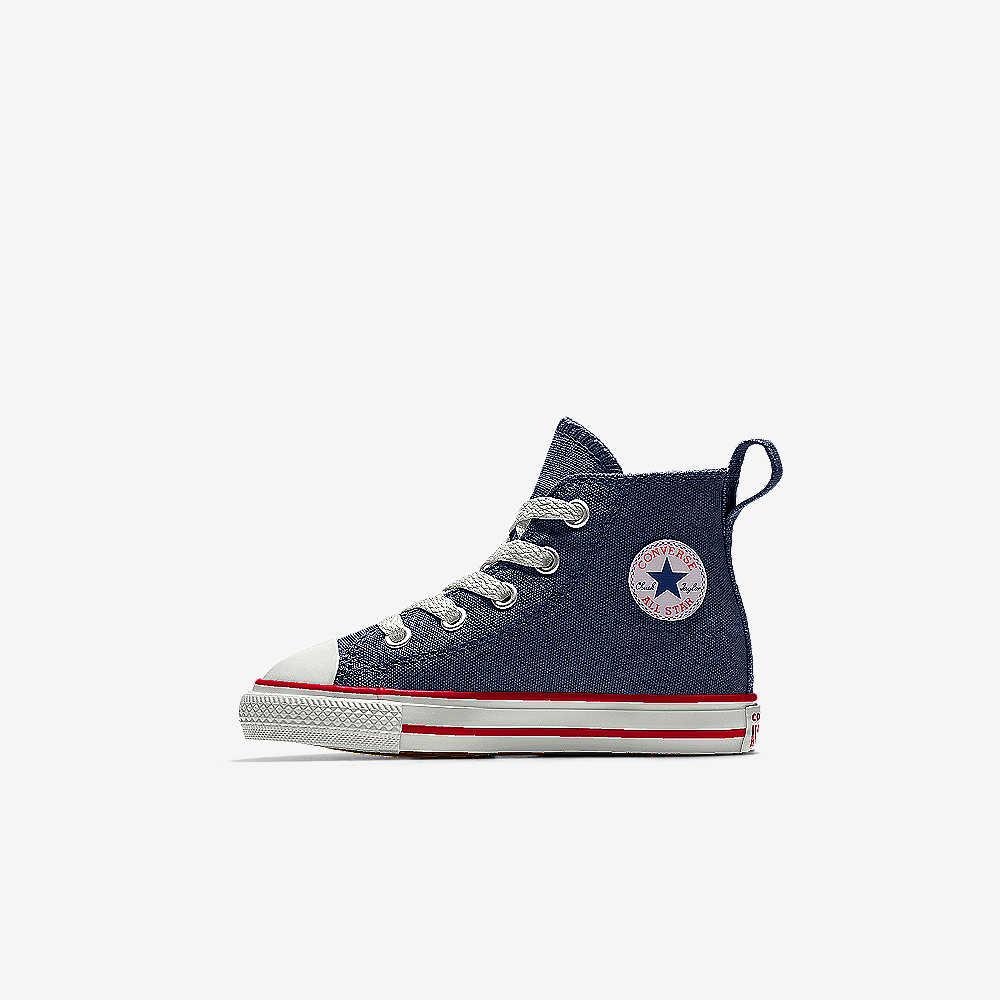 25981083e95f0 Converse Custom Chuck Taylor All Star Simple Step High Top Infant ...