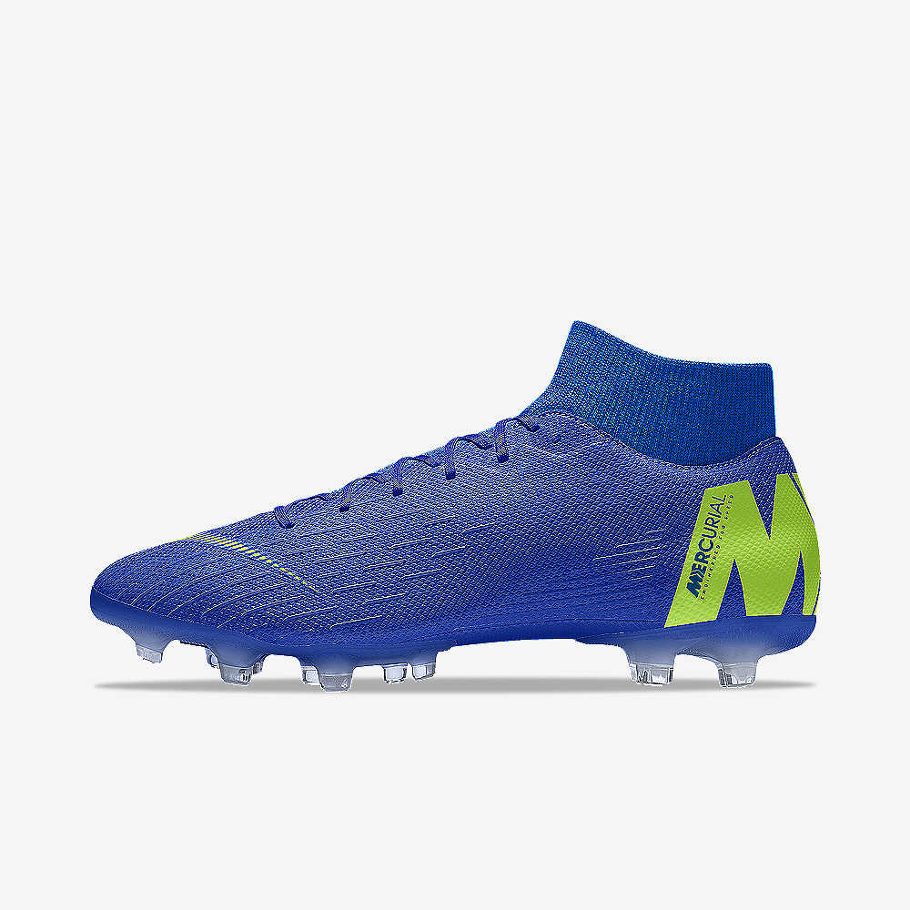 Nike Mercurial Superfly VI Academy By You Soccer Cleat. Nike.com a1b033344590