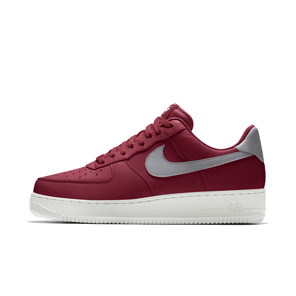 huge selection of 2fd86 3666a Nike Air Force 1 Low iD Men s Shoe Size 10.5 (Red)