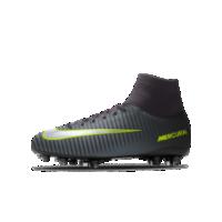 <ナイキ(NIKE)公式ストア> ナイキ ジュニア マーキュリアル ビクトリー VI ダイナミック フィット FG iD キッズ ファームグラウンド サッカースパイク 12183523 ブラック画像