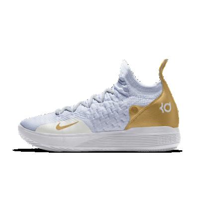 <ナイキ(NIKE)公式ストア>ナイキ ズーム KD11 iD メンズ バスケットボールシューズ AT8632-991 ホワイト 【NIKEiD】 30日間返品無料 / Nike+メンバー送料無料