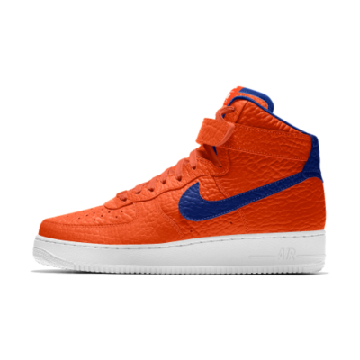 Nike Air Force 1 High Premium iD (New York Knicks) Men's Shoe